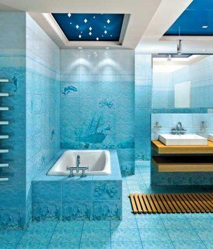 Плитка напольная для ванной: на какие характеристики обратить внимание и как класть плитку на пол