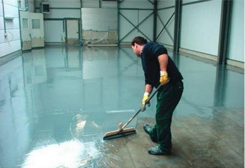 обновление наливных покрытий