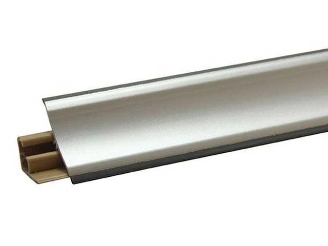 крепление плинтусов из алюминия
