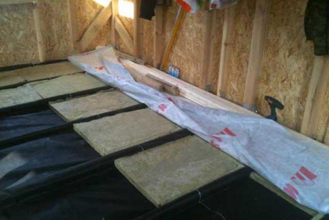 Изоспан для пола в деревянном доме: надежная пароизоляция